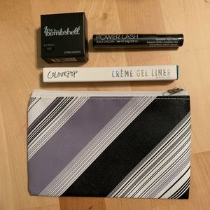 Eye bundle,Colourpop swerve, Be a bombshell shadow